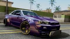 Nissan Skyline GT-R R34 Battle Machine para GTA San Andreas