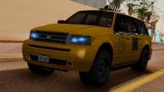 Landstalker Taxi SR 4 Style para GTA San Andreas