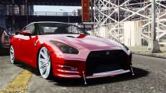 Nissan GT-R AMS 2012 para GTA 4