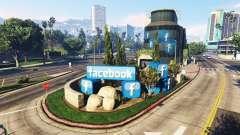 La construcción de la red social Facebook para GTA 5