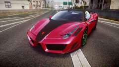 Ferrari 458 Italia Mansory Siracusa 2011 para GTA 4