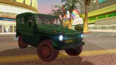 Mercedes-Benz G Wolf Croatian Army para GTA San Andreas