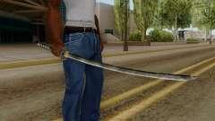 Original HD Katana para GTA San Andreas