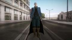 New Vergil from DMC para GTA San Andreas