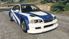 BMW M3 GTR E46 Most Wanted v1.3