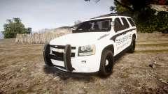 Chevrolet Tahoe 2013 New Alderney Sheriff [ELS] para GTA 4