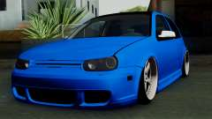 Volkswagen Golf Mk4 Stance para GTA San Andreas