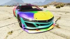 Dinka Jester (Racecar) Balloons para GTA 5
