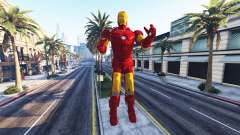 La estatua de iron man para GTA 5