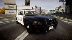 Dodge Charger Police Liberty City [ELS] para GTA 4