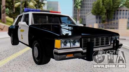 Chevrolet Caprice 1980 SA Style LVPD para GTA San Andreas