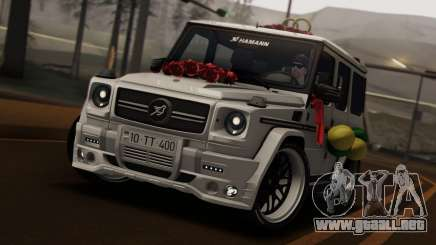 Mercedes Benz G65 Hamann Tuning Wedding Version para GTA San Andreas