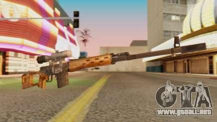 SVD SA de Estilo para GTA San Andreas