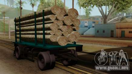 GTA 5 Fieldmaster Wood Trailer para GTA San Andreas