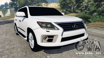 Lexus LX 570 2014 para GTA 5