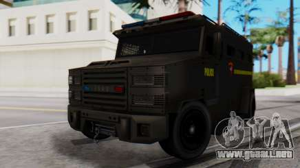GTA 5 Enforcer Indonesian Police Type 2 para GTA San Andreas