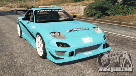 Mazda RX-7 C-West v0.1 para GTA 5