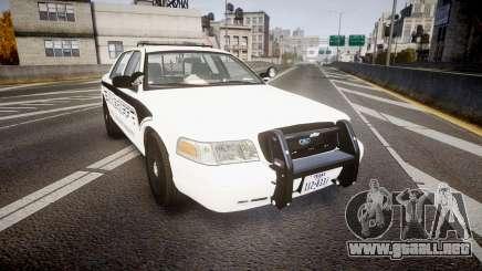 Ford Crown Victoria 2011 New Alderney Sheriff para GTA 4