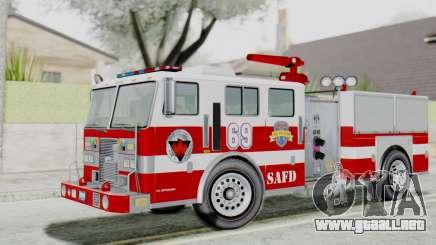 MTL SAFD Firetruck Flat Shadow para GTA San Andreas