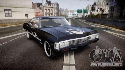 Chevrolet Impala 1967 Custom livery 4 para GTA 4