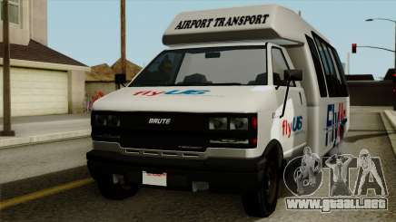 Fly Us Airport Bus para GTA San Andreas