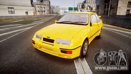 Ford Sierra RS500 Cosworth v2.0 para GTA 4