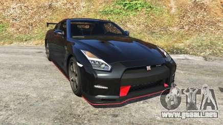 Nissan GT-R Nismo 2015 para GTA 5