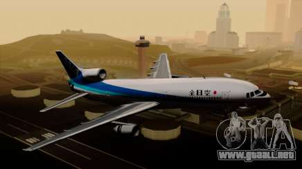 Lockheed L-1011 TriStar All Nippon Airways para GTA San Andreas