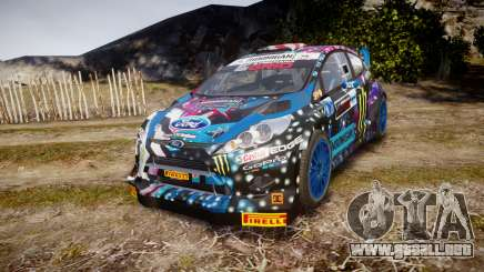 Ford Fiesta RS Ken Block 2015 para GTA 4