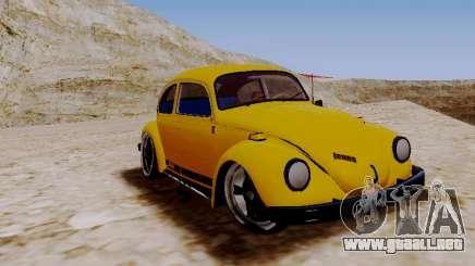 Volkswagen Escarabajo 1975 Jeans Edición Personalizada para GTA San Andreas