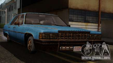 GTA 5 Albany Emperor Worn para GTA San Andreas