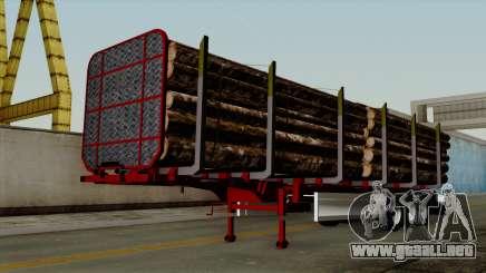 Trailer Fliegl v2 para GTA San Andreas