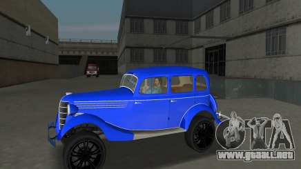 GAZ 11-73 Azul Real para GTA Vice City
