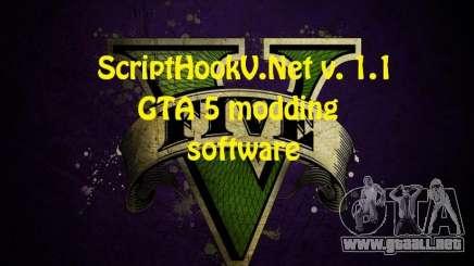 ScriptHookV.NET v.1.1 para GTA 5