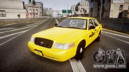 Ford Crown Victoria 2011 NYC Taxi para GTA 4