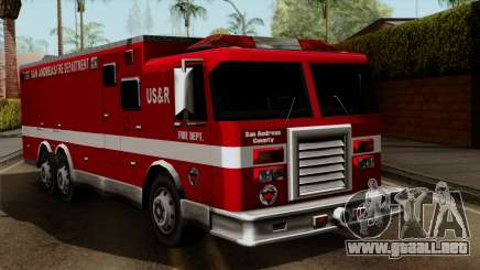 FDSA Urban Search & Rescue Truck para GTA San Andreas