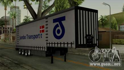 Trailer Krone Profiliner v4 para GTA San Andreas