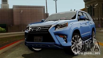 Lexus GX460 2014 v1 para GTA San Andreas