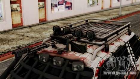 Ford Explorer Zombie Protection para la visión correcta GTA San Andreas
