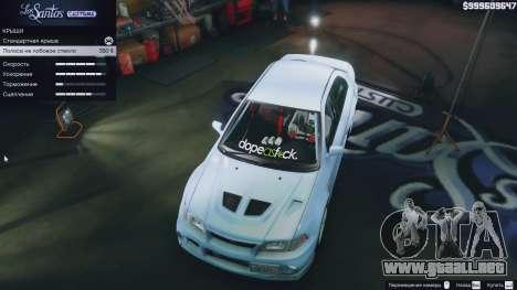 Mitsubishi Lancer Evo VI GSR v1.0 para GTA 5