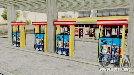 LS CJ Gas v2 para GTA San Andreas tercera pantalla