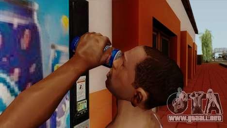 Rani Juice Can para GTA San Andreas tercera pantalla