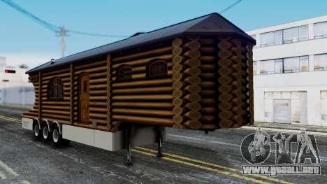 Scania Showtrailer Cabaña para GTA San Andreas