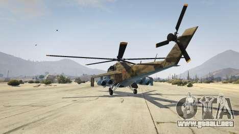 GTA 5 Mi 24 tercera captura de pantalla