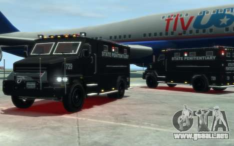 International 4000-Series SWAT Van para GTA 4