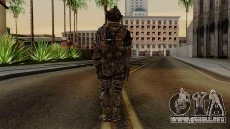 CoD Custom Ghost Retextured para GTA San Andreas tercera pantalla