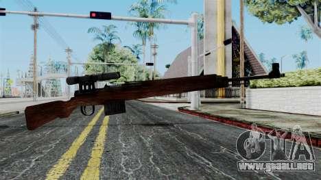 Gewehr 43 ZF from Battlefield 1942 para GTA San Andreas