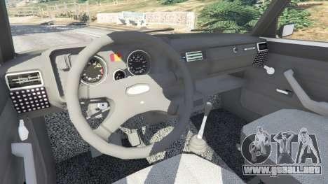 El VAZ-2105 para GTA 5