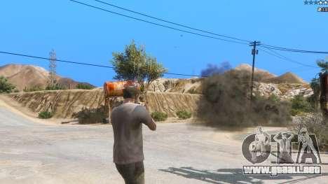 GTA 5 Insane Overpowered Weapons mod 2.0 segunda captura de pantalla