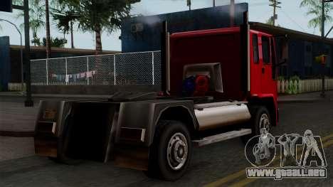 DFT-30 Truck para GTA San Andreas left